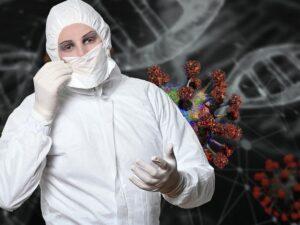 USA Coronavirus Pandemic COVID-19 Awareness Prevention and Treatment
