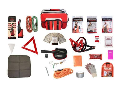 auto safety kit auto survival kit road trip survival kit