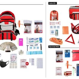 1 Person – 72 Hours Emergency Preparedness Kit Package
