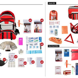 2 Persons – 72 Hours Emergency Preparedness Kit Package
