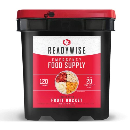 Long Term Food Storage Containers Fruit-Bucket Best Freeze Dried Food Supply