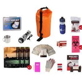 Food Storage Survival Kit with Waterproof Dry Bag